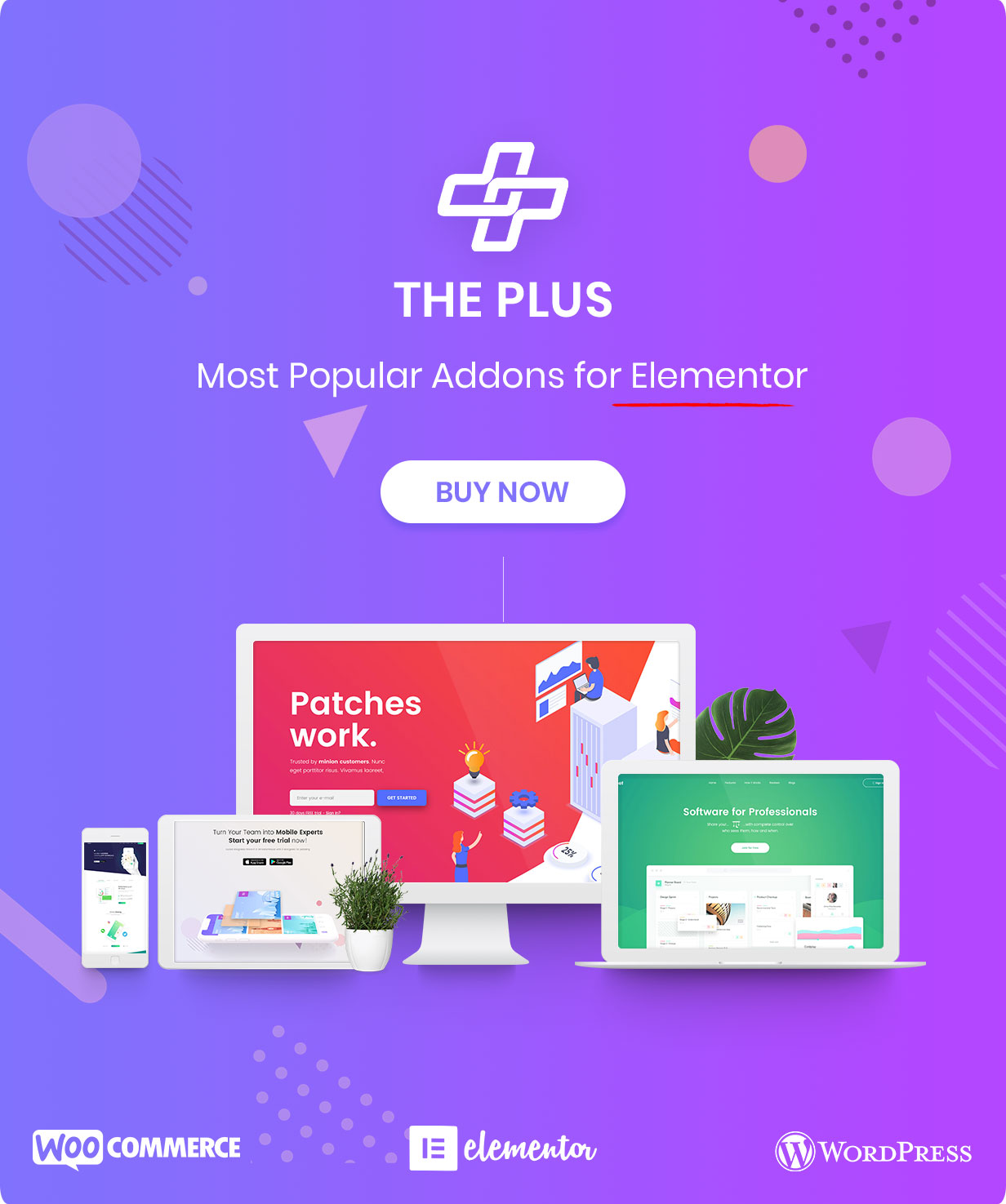 The Plus - Addon for Elementor Page Builder WordPress Plugin - 1