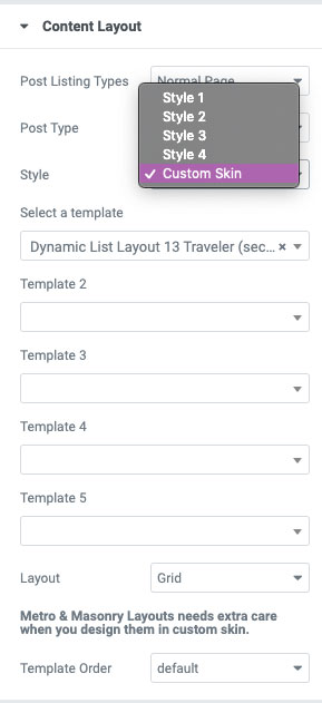 1 custom loop The Plus Addons for Elementor
