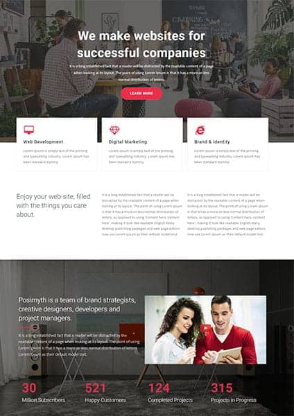 Corpative agency The Plus Addons for Elementor