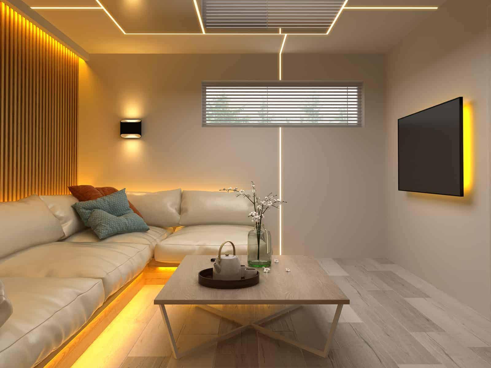 interior modern design room 3d illustration PL5TCZA The Plus Addons for Elementor