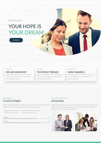 Digital agency2 The Plus Addons for Elementor