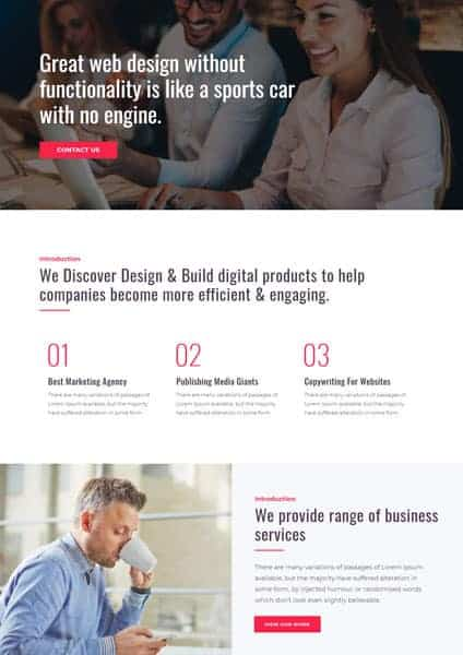 Creative Agency The Plus Addons for Elementor