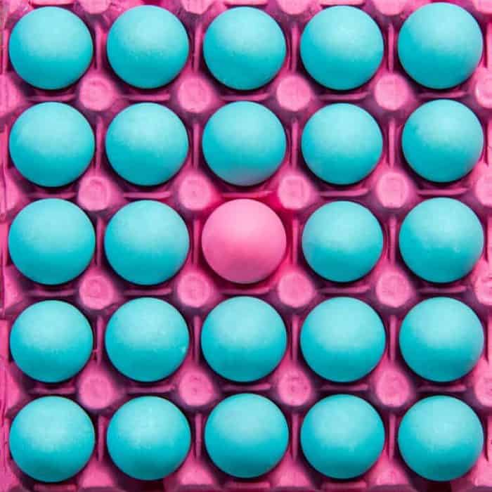 be different creative visual art pastel eggs PXAUWZY The Plus Addons for Elementor
