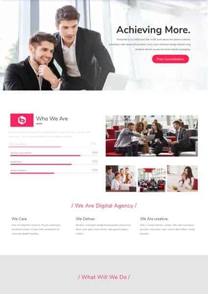 digital agency 1 The Plus Addons for Elementor
