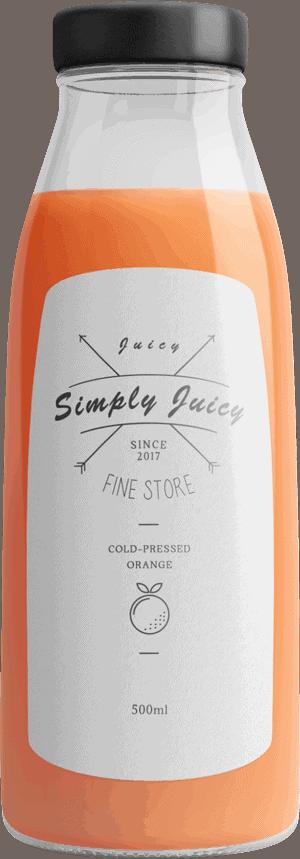 Juice Bottle 2 The Plus Addons for Elementor