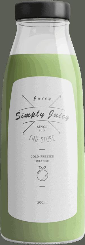 Juice Bottle 3 The Plus Addons for Elementor