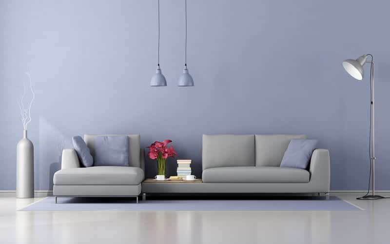 minimalist lounge with modern sofa The Plus Addons for Elementor
